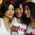 Korean Hooters Girls