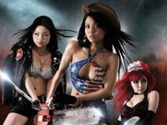 Sora Aoi, Risa Kasumi, and Mari Sakurai