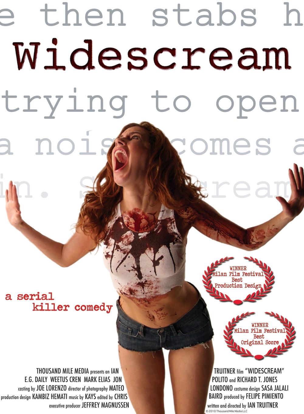 Widescream Poster