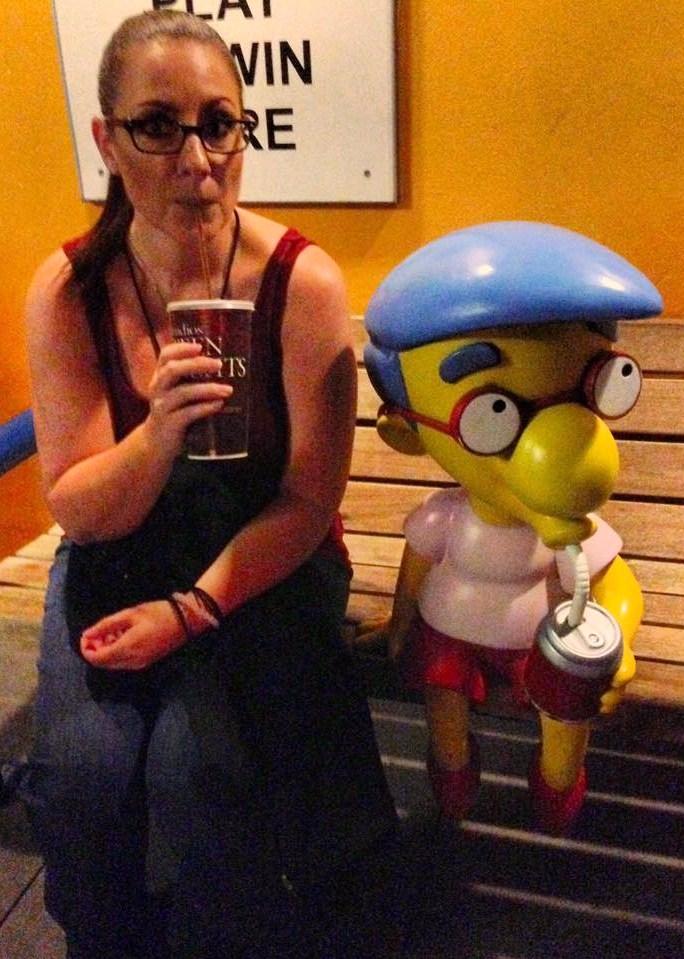 Jenn & Milhouse