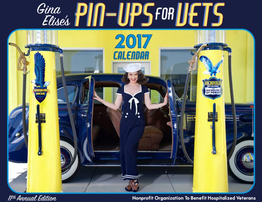 2017 Pin-Ups For Vets Calendar