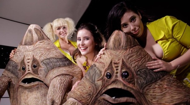 Space Babes with the Scrotes