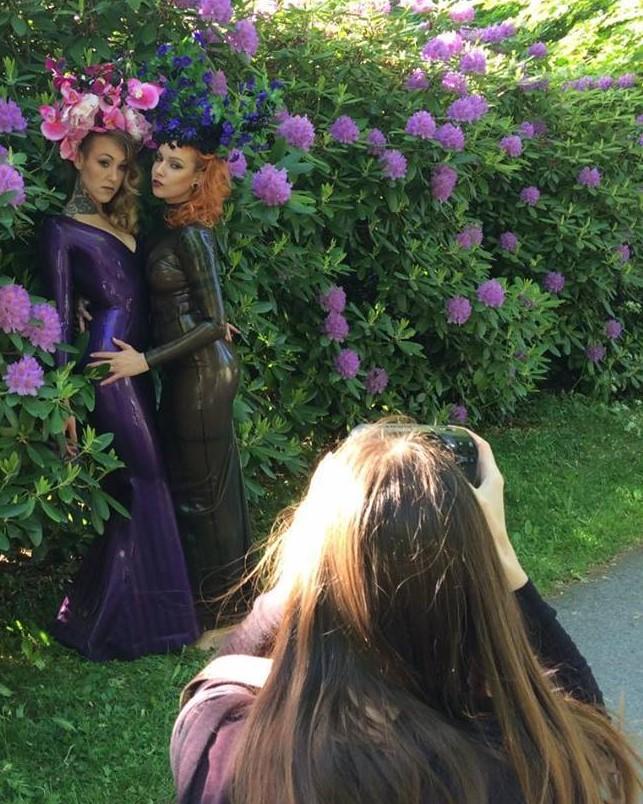 Shooting Psylocke and Elegy Ellem