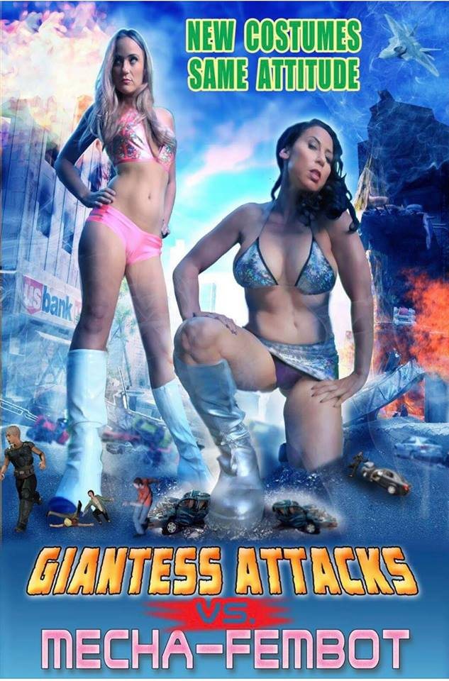 Giantess Attack 2 Poster