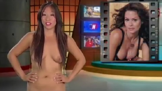 Audition naked news A female