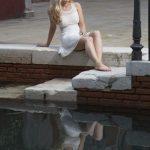 Morgan Ziva in Venice, Italy (Photo by Mario Maney)
