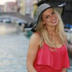 Morgan Ziva in Venice, Italy (Photo by Mario Maney)